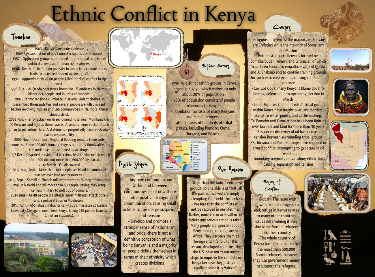 Ethnic Conflict in Kenya